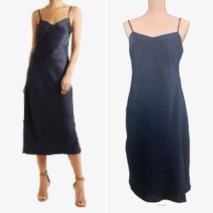 Banana Republic Cascade Satin Slip Dress, Size 4